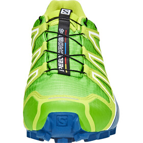 Salomon Speedcross 4 GTX Shoes Men Classic Green/Lime Green/Poseidon